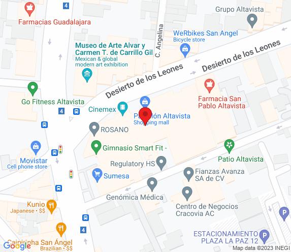 Buen Bife Tienda  Altavista map