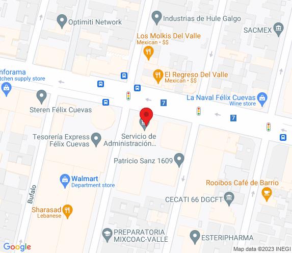 Buen Bife Tienda Félix Cuevas map