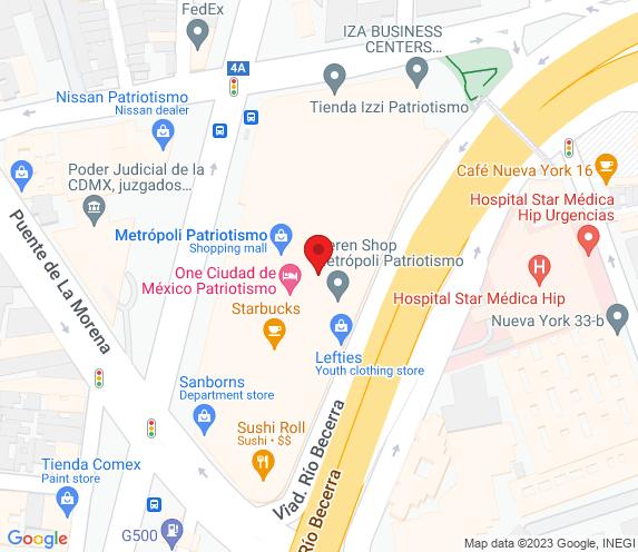 Buen Bife Tienda Patriotismo map