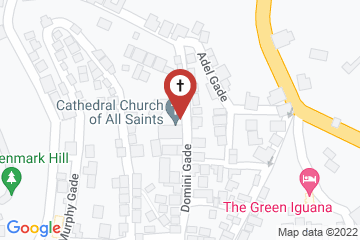 Map of Cathedral Church of All Saints