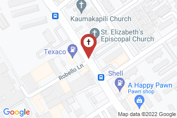 Map of St. Elizabeth's Episcopal Church