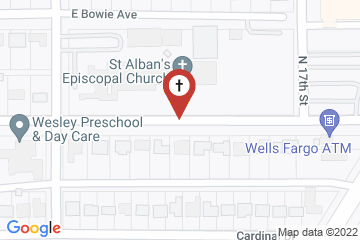 Map of St Albans Episcopal Church