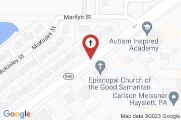 Map of Episcopal Church of Good Samaritan