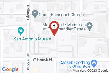 Map of Christ Episcopal Church