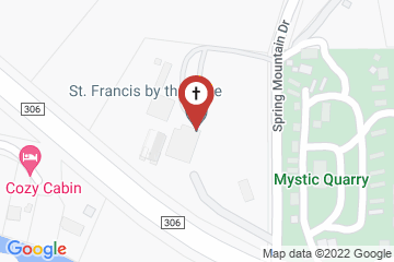 Map of St. Francis by the Lake