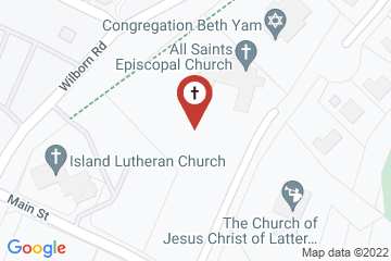Map of All Saints Episcopal Church