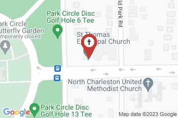 Map of St. Thomas Episcopal Church