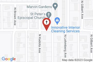 Map of St. Peter's Episcopal Church