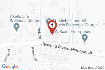 Map of St Michael & All Angels Episcopal Church