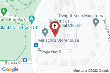 Map of St Patrick's Episcopal Church