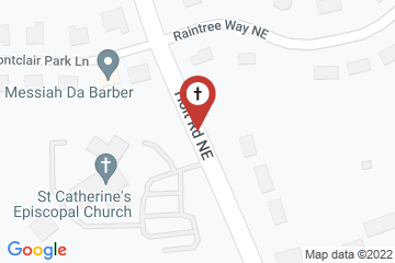 Map of St. Catherine's Episcopal Church