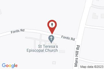 Map of St Teresa's Episcopal Church