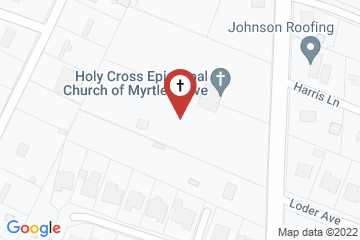 Map of Holy Cross Episcopal Church, Wilmington, North Carolina