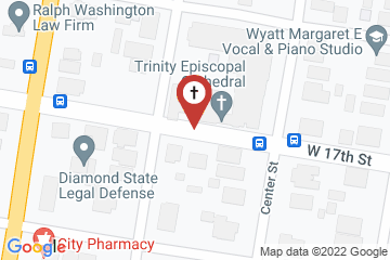 Map of Trinity Episcopal Cathedral