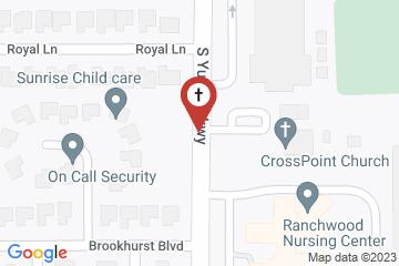 Map of Grace Church - Episcopal