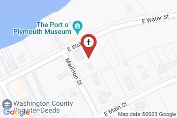 Map of Grace Episcopal Church, Plymouth, North Carolina