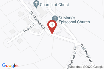 Map of St Marks Episcopal Church