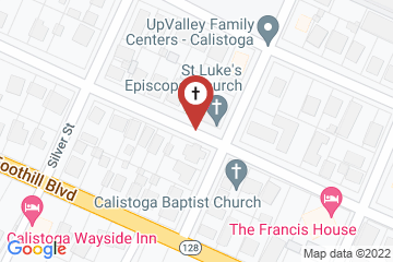 Map of St. Luke's Episcopal Church
