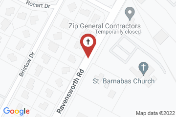 Map of St. Barnabas Church