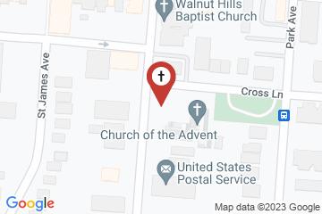 Map of Church of the Advent Cincinnati