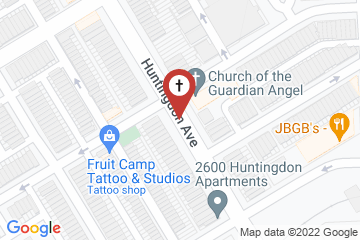 Map of Church of the Guardian Angel