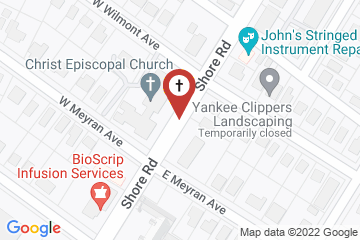 Map of Christ Church Episcopal