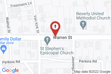 Map of St. Stephen's Episcopal Church