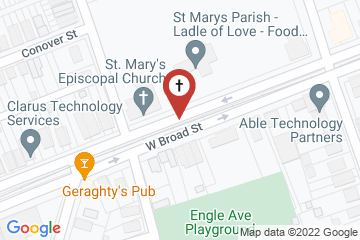 Map of St. Mary's Episcopal Church