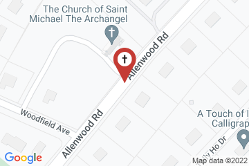 Map of St. Michael's Episcopal Church
