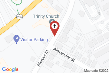Map of Trinity Episcopal Church