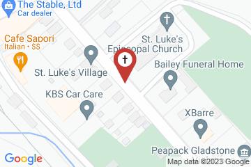 Map of St. Luke's Episcopal Church