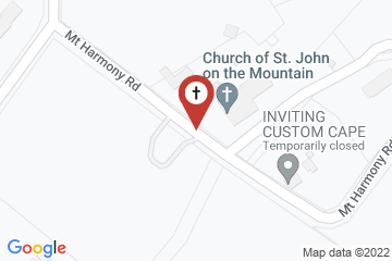 Map of Church of Saint John on the Mountain