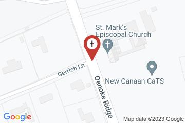 Map of St. Mark's Episcopal Church