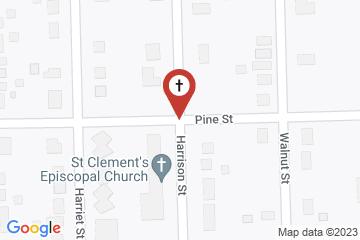 Map of St. Clement's Episcopal Church