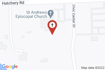 Map of St. Andrew's Episcopal Church