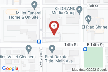 Map of Calvary Cathedral Episcopal