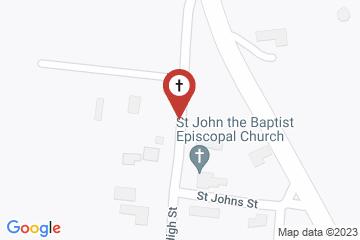 Map of Church of St. John the Baptist