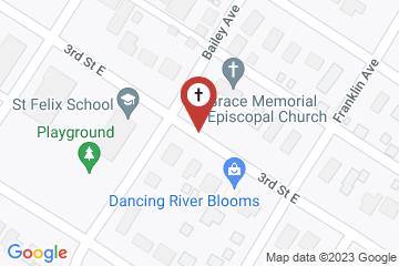 Map of Grace Memorial Episcopal Church