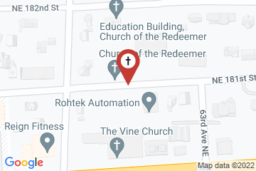 Map of Church of the Redeemer