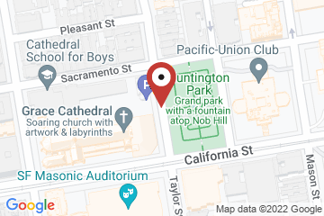 Map of Offices of the Diocese of California