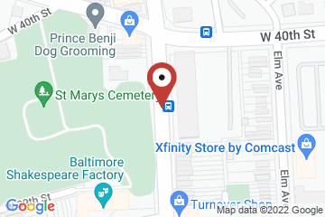 Map of St. Mary Outreach Center