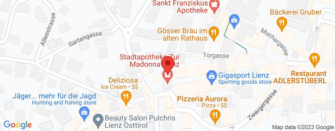 Karte von Bodymed-Center Lienz