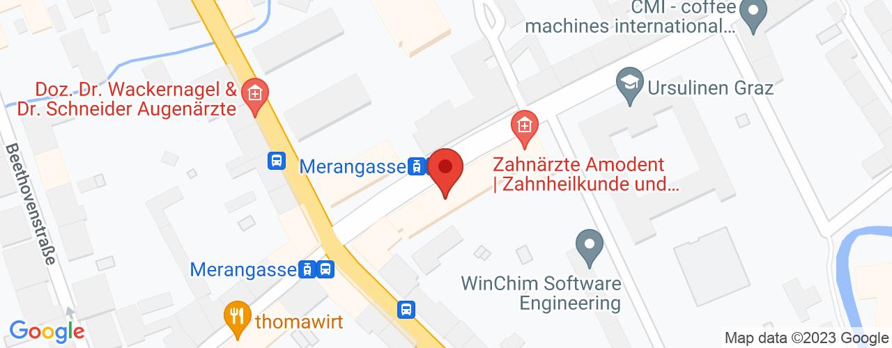 Karte von Bodymed-Center Graz - Leonhardstraße