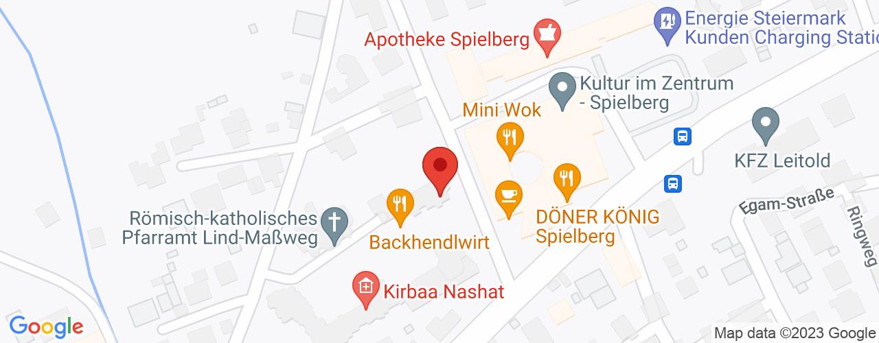 Karte von Bodymed-Center Knittelfeld