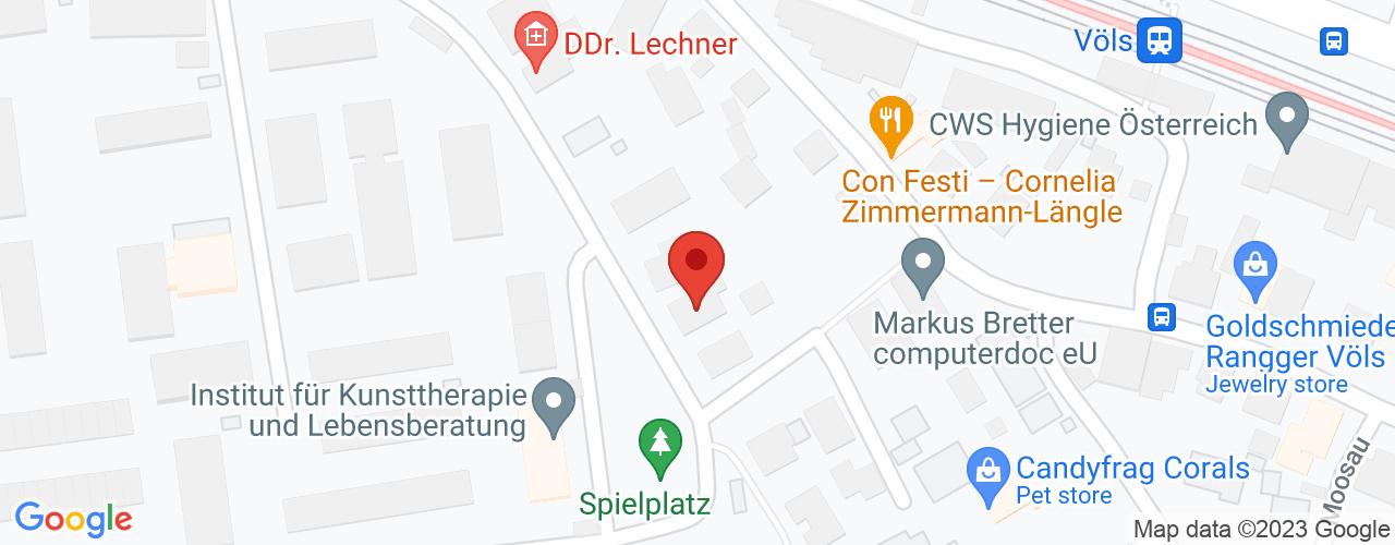 Karte von Bodymed-Center Völs