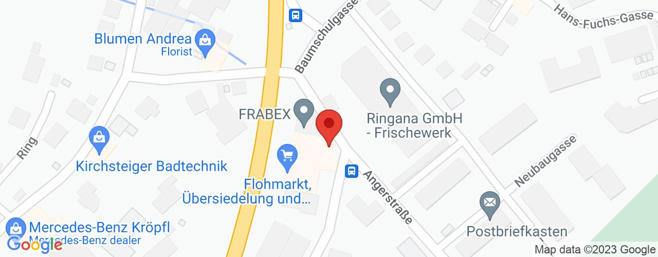 Karte von Bodymed-Center Hartberg