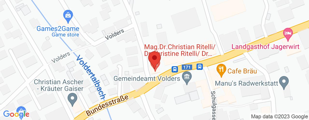 Karte von Bodymed-Center Volders