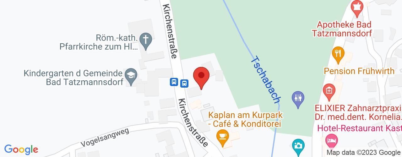 Karte von Bodymed-Center Bad Tatzmannsdorf