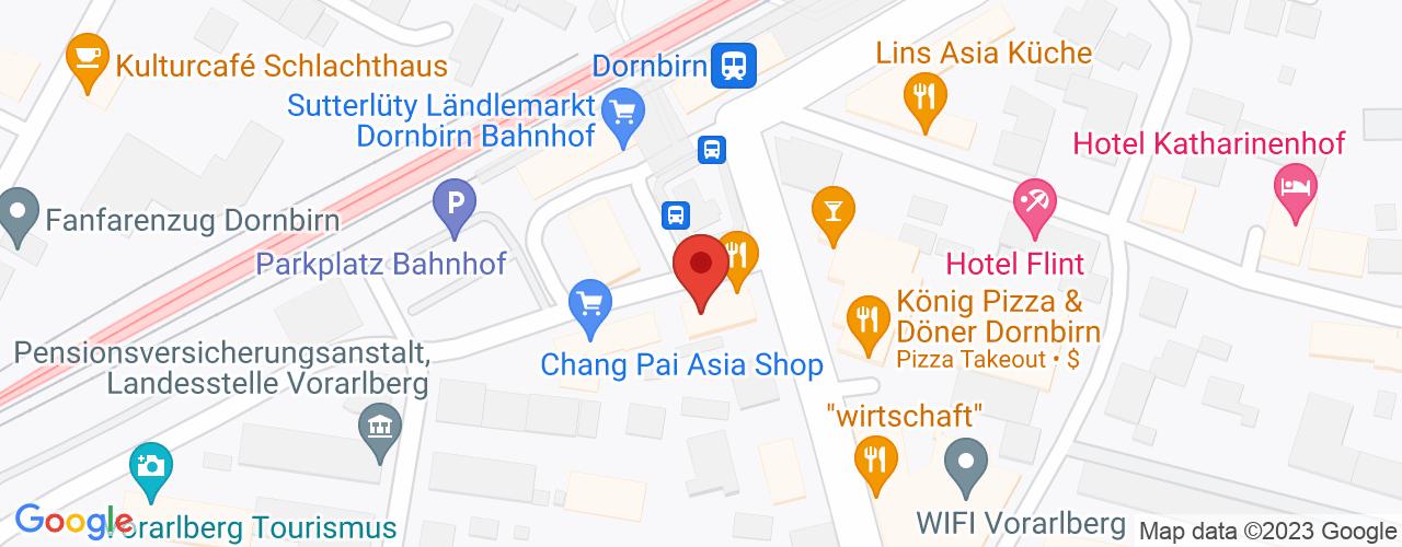 Karte von Dornbirn
