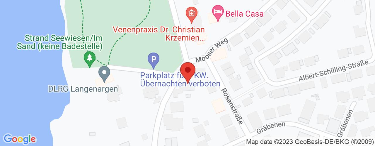 Karte von Bodymed-Center Langenargen